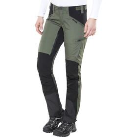 Lundhags Makke Pantalon Femme, forest green